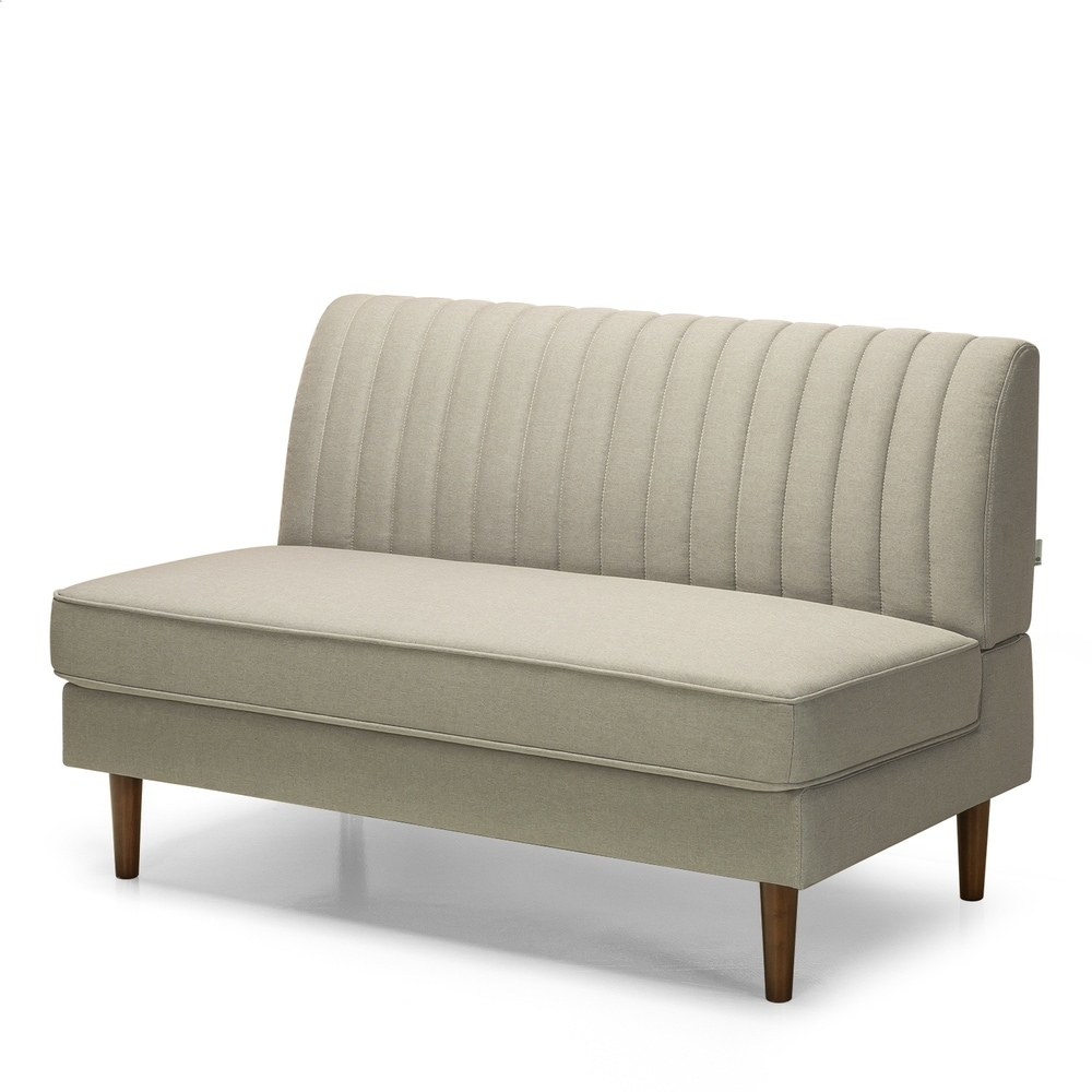 armless loveseats online at overstock