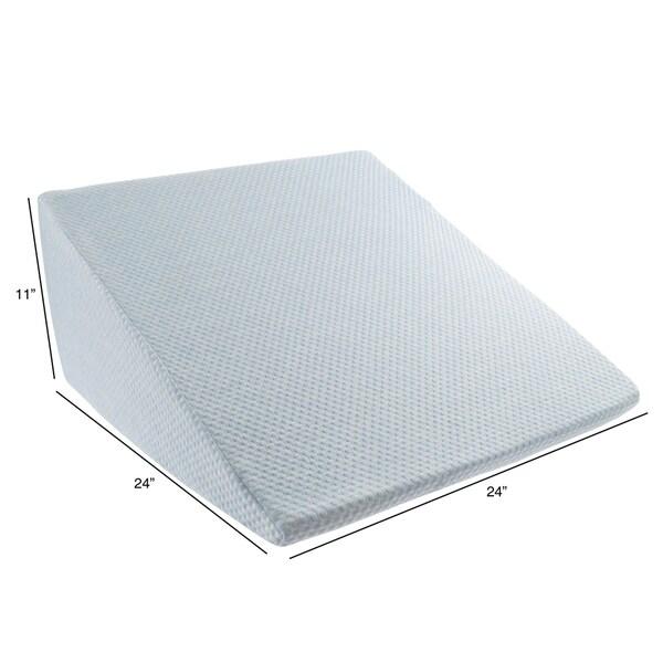 extra high memory foam wedge pillow