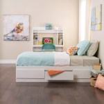 White Twin Mate S Platform Storage Bed With 3 Drawers Overstock 2460960