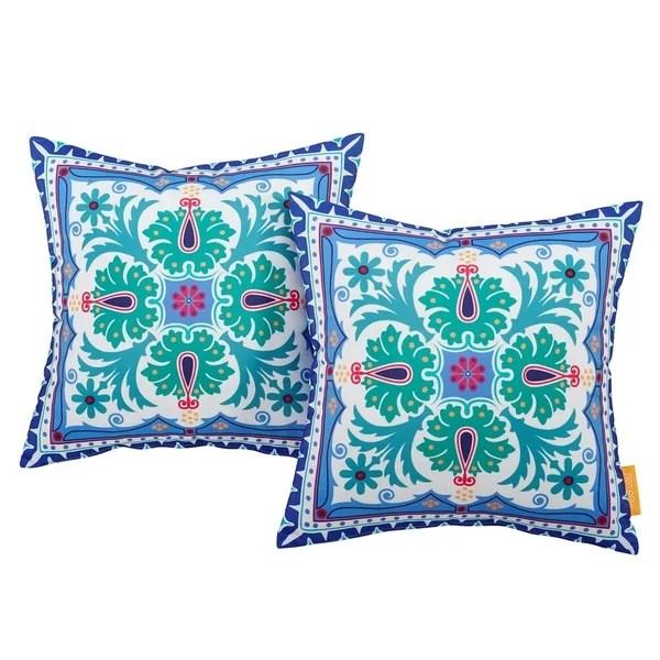 edna bay 2 piece patio pillow set