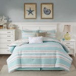 Harbor House Ocean Reef Seafoam Green 6 Piece Quilted Reversible Comforter Set Overstock 25596114