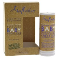 Manuka Honey & Provence Lavender Baby Chest Rub Normal/Dry Skin Shea Moisture for Kids 0.6-ounce Ointment
