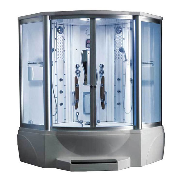 608 Steam Shower With Whirlpool Tub 10819299 Overstock