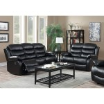 Shop Gtu Furniture Modern Contemporary Sleek Chic Lever Faux Leather Reclining Sofa Couch Loveseat Sofas Reclinables Para Adultos Overstock 26284131