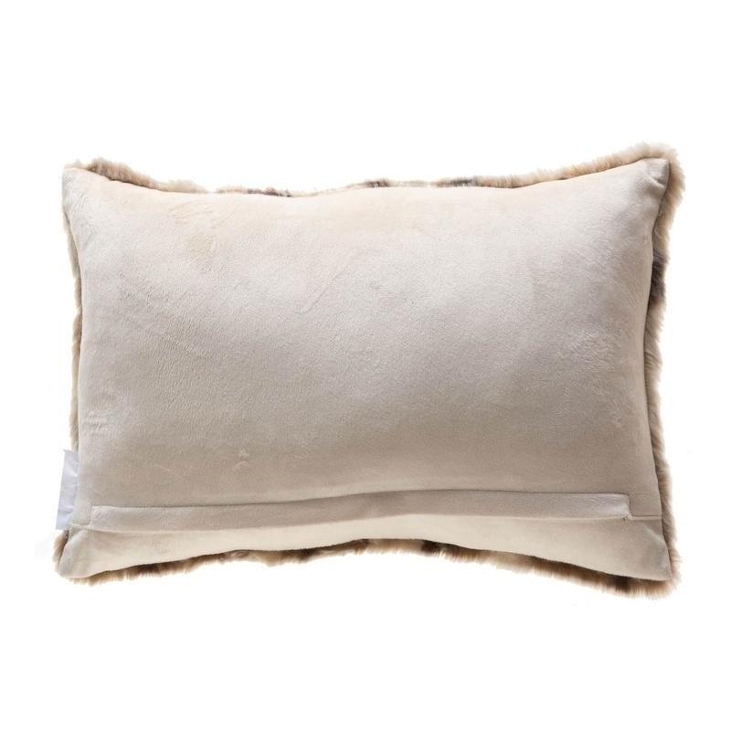 faux lumbar pillow cover 14x20