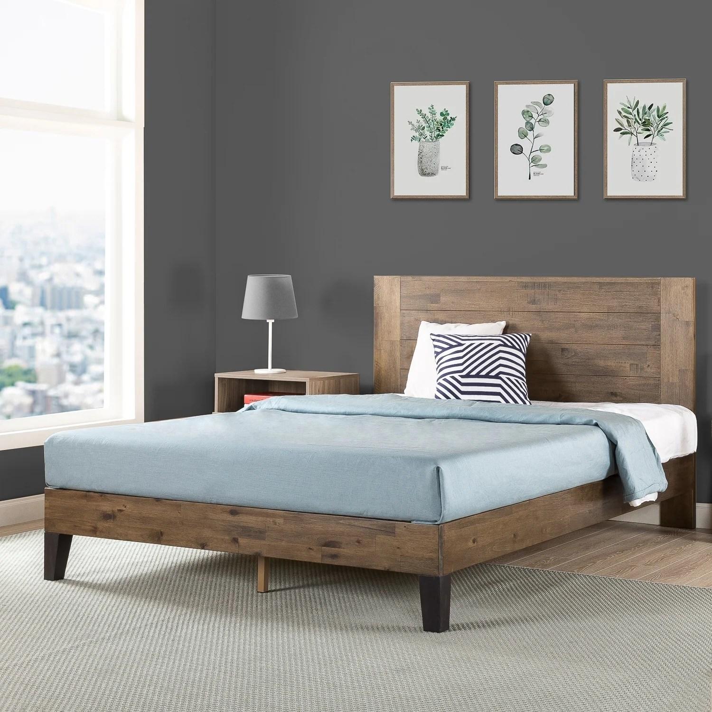 Carbon Loft Sollano Pine Wood Platform Bed Overstock 26855834