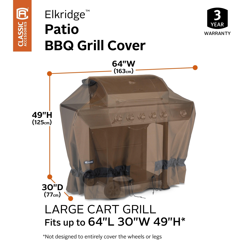 classic accessories elkridge bbq grill cover