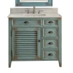 Shop Black Friday Deals On Benton Collection Abbeville 36 Inch Farmhouse Rustic Bathroom Vanity Overstock 27661588