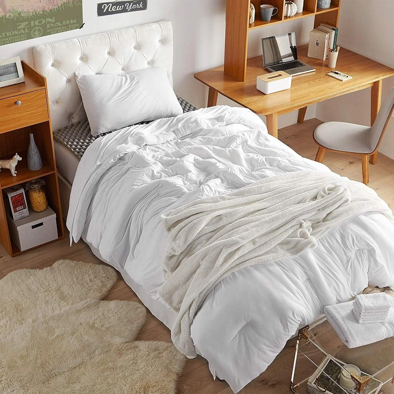 porch den harwell white twin xl essential dorm bedding set