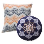 Buy Grey Medallion Throw Pillows Online At Overstock Our
