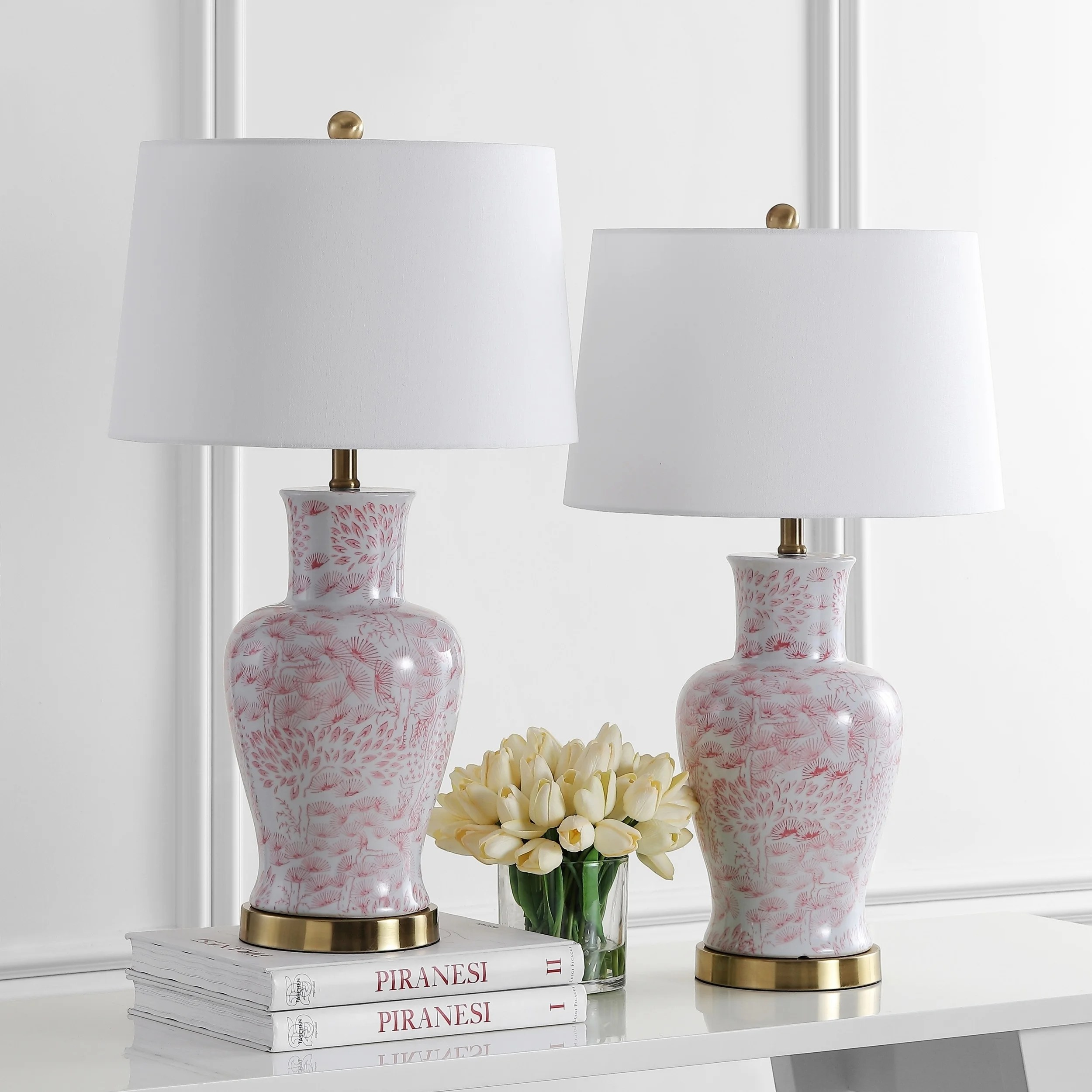 Safavieh Lighting 28 Calli Led Table Lamp Set Of 2