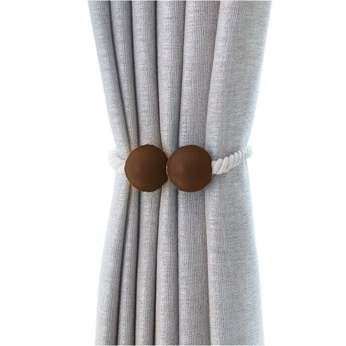 bad students oberle magnetic ball curtain tieback set of 2