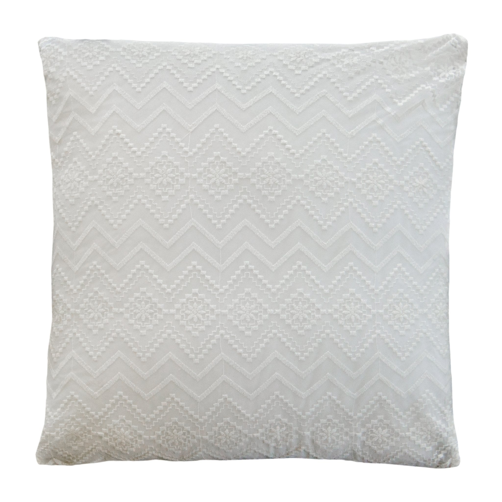 lace euro pillow cover 26x26 cover only sheer diamond