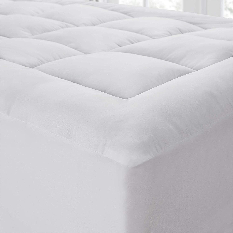 the mega thick mattress pad topper pillow top