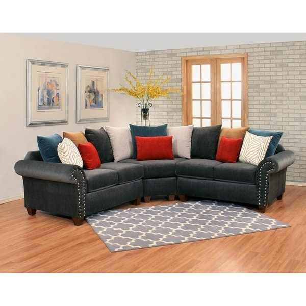pandoraa 3 piece sectional by arely s furniture inc