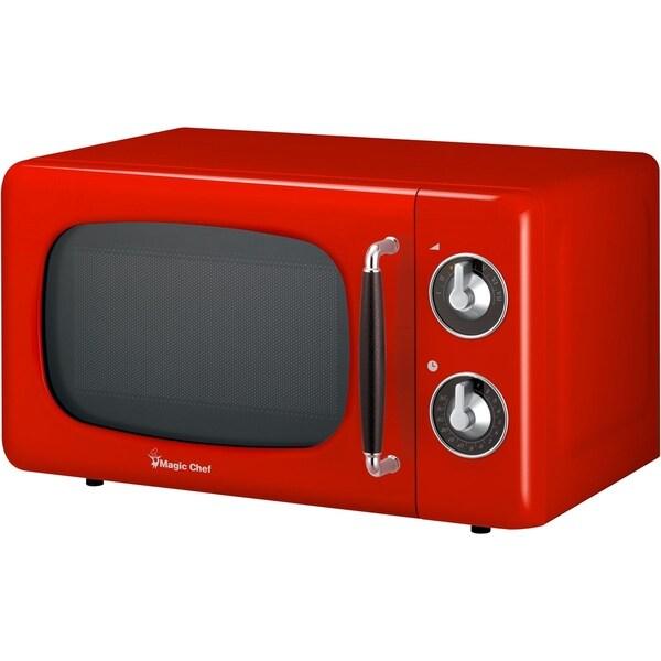 retro 0 7 cu ft countertop microwave in