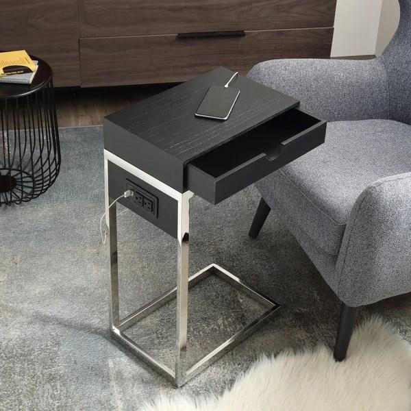 carbon loft cedes c table with usb
