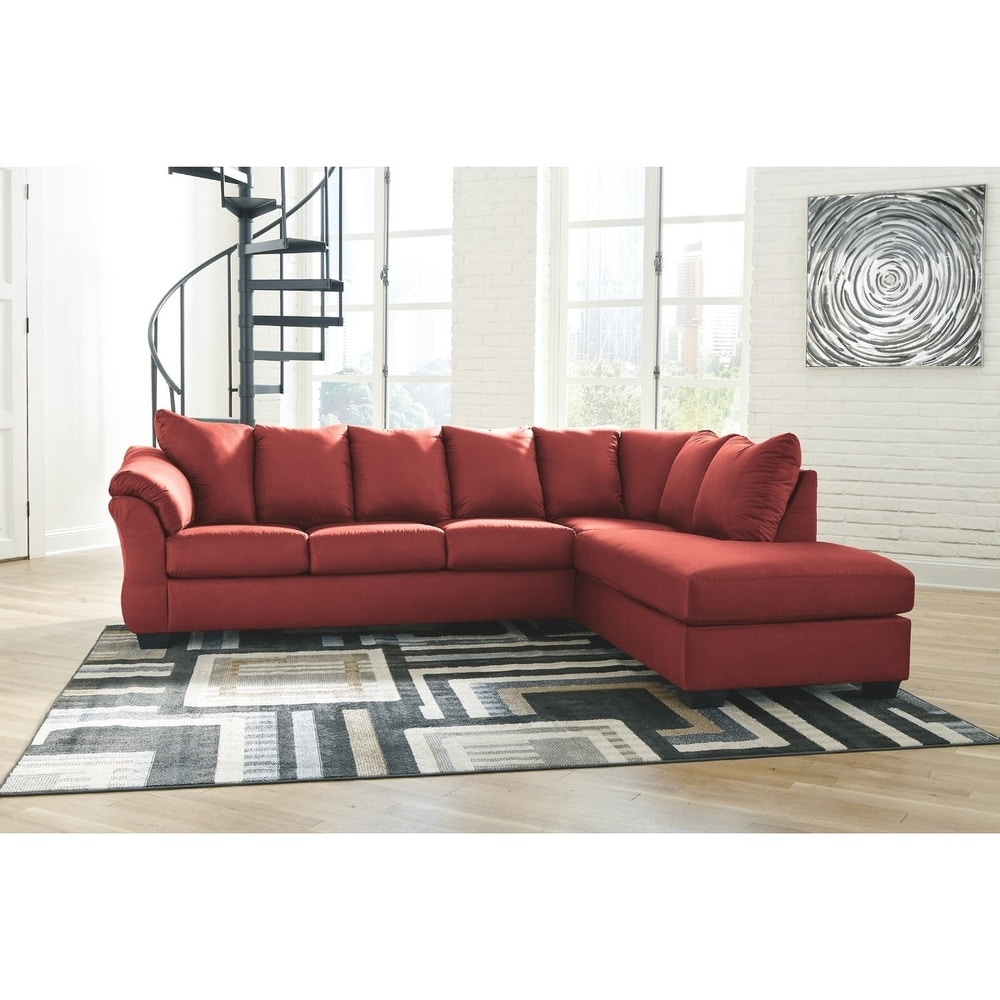 red sectional sofas online at overstock