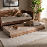 Carson Carrington Daikanvik Modern And Contemporary Trundle Bed Overstock 29094982