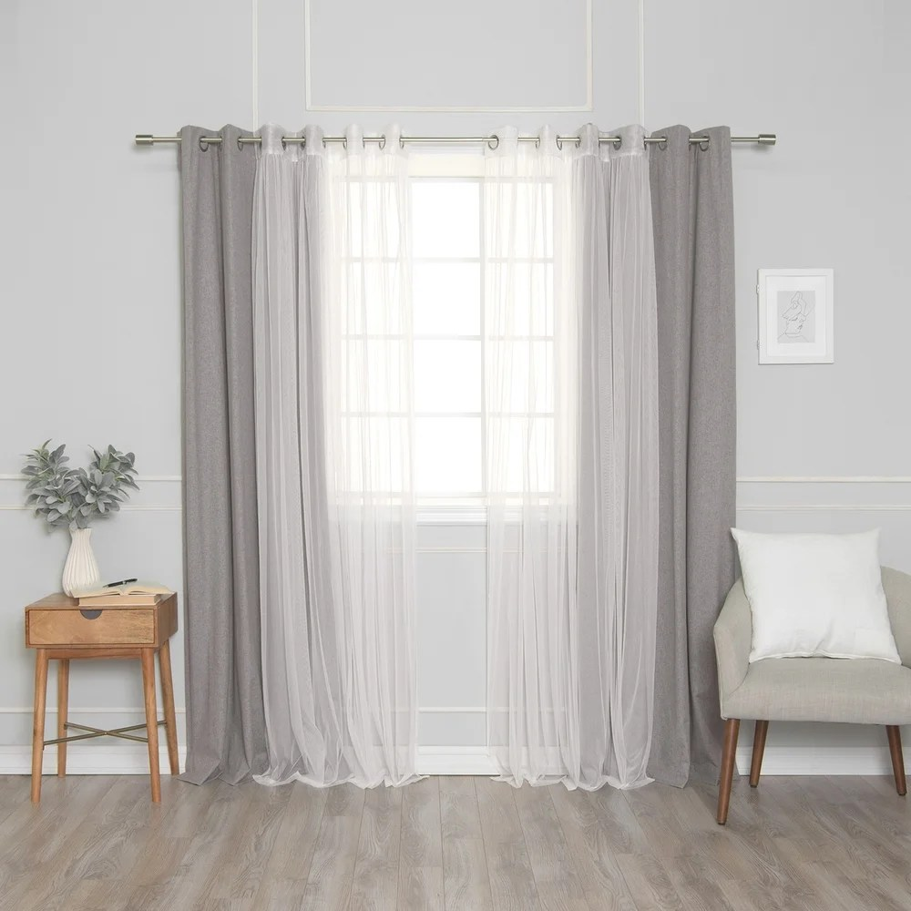 buy 4 panel curtains drapes online at