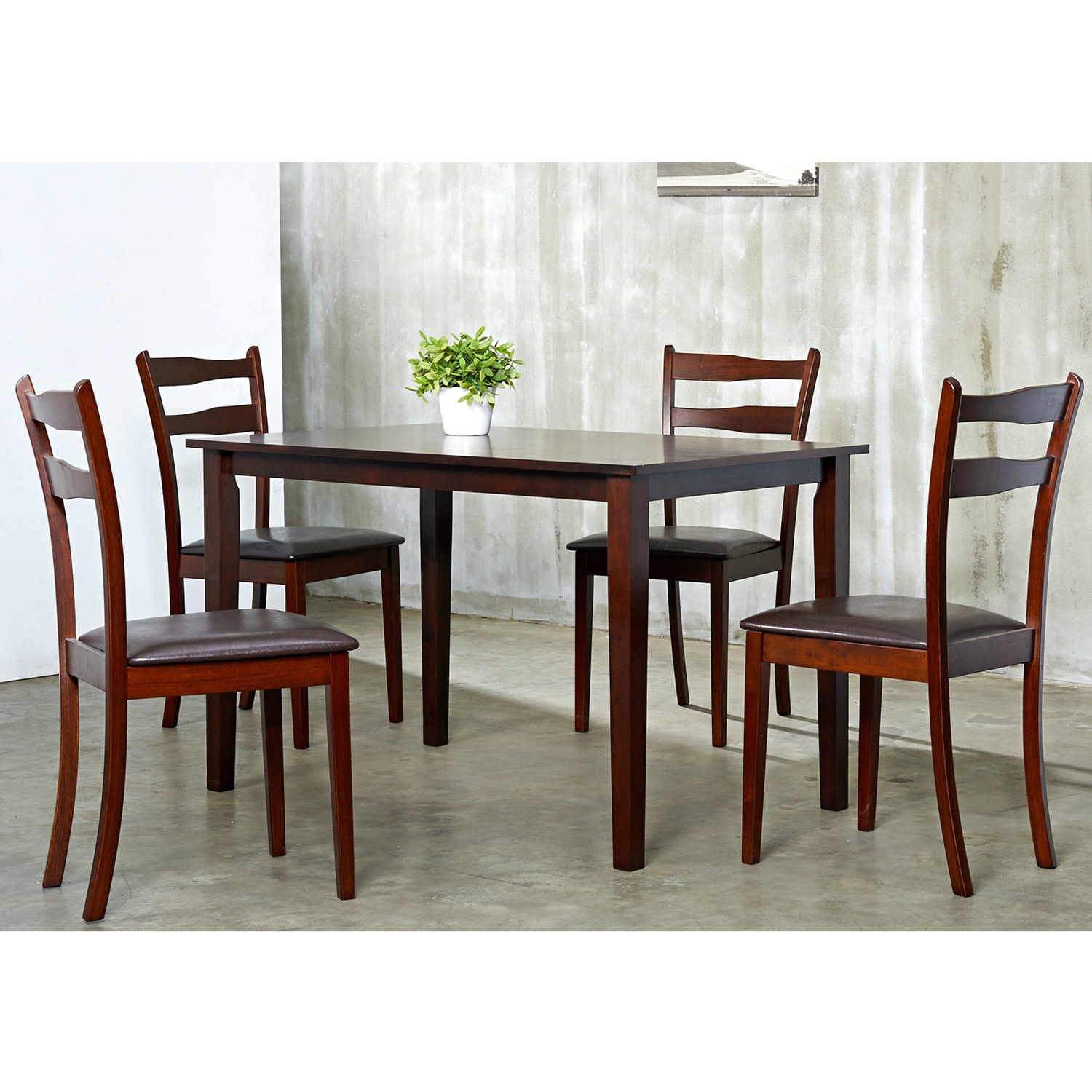Five Piece Dining Room Sets Callan 5 Piece Dining Room Furniture Set Overstock Shopping Big
