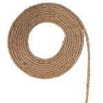 100 Feet Thick Twine String For Diy Crafts Genie Crafts 5mm Natural Jute Hemp Rope Gift Packing Towing Products Winches Tow Hooks Straps