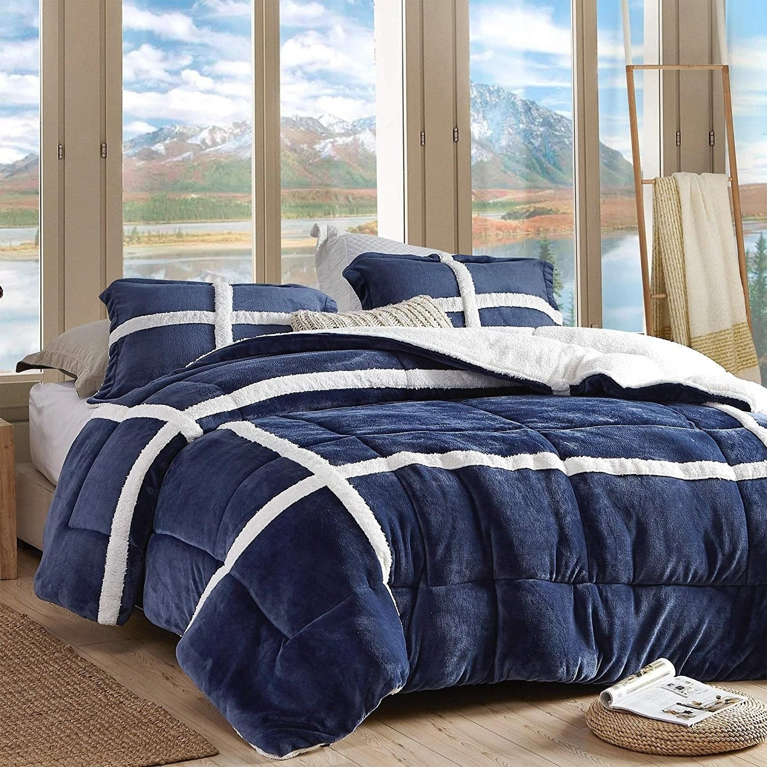 coma inducer oversized comforter wilderness navy
