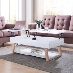 Furniture Of America Willen White Contemporary Lift Top Coffee Table Overstock 30016795