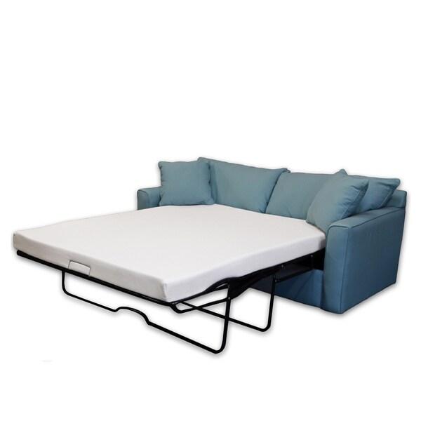sleeper sofa memory foam mattress queen 60 x 72 4 5