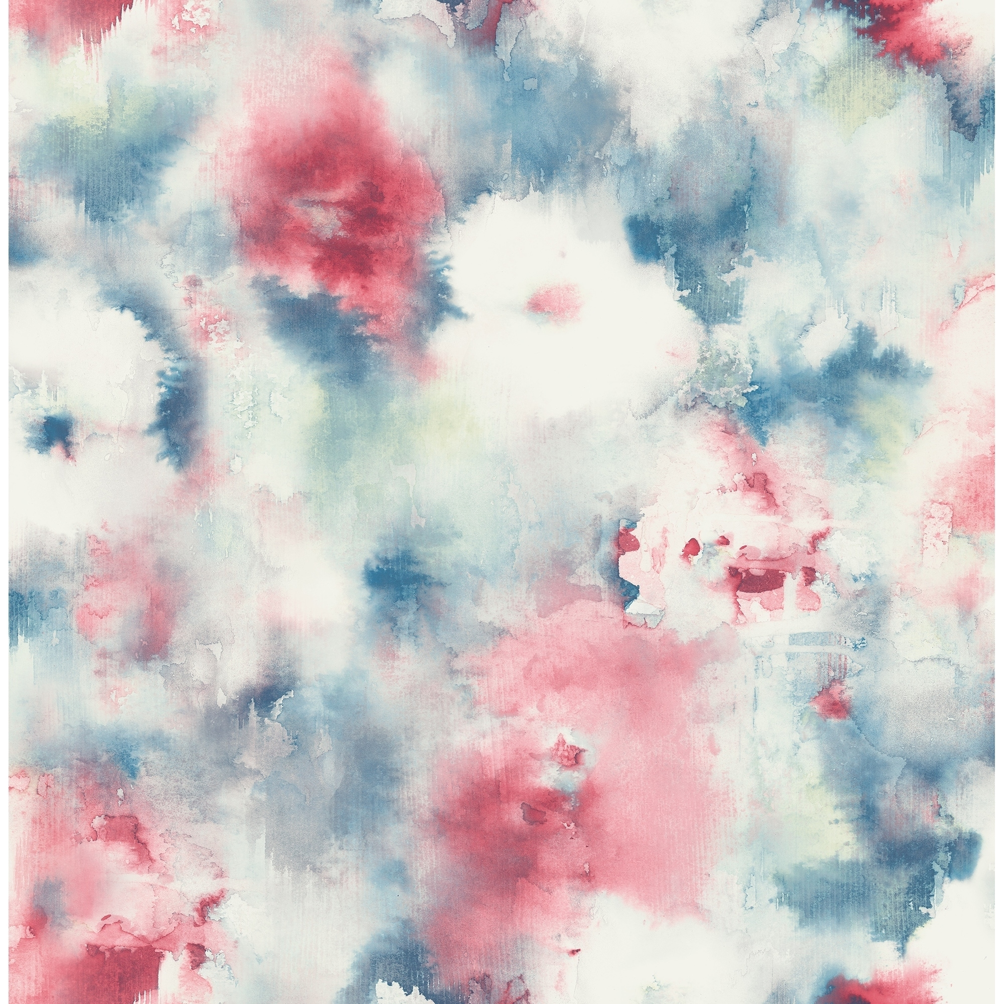 Shop Satin Abstract Floral Wallpaper 32 81 Feet Long X 20 5 Inchs Wide Hot Pink Lime Green Off White Overstock 30270626