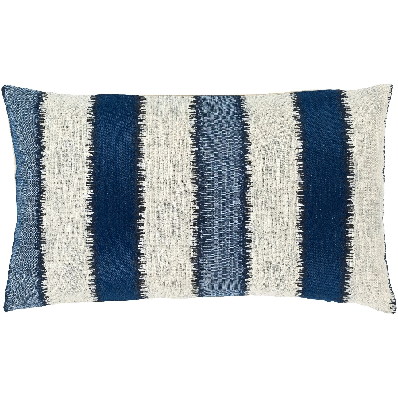 etta striped coastal 14x24 inch lumbar throw pillow