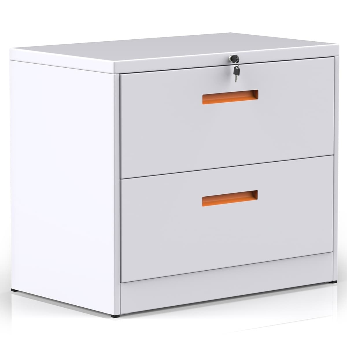 Merax Lateral File Cabinet With Lock Locking Metal Lateral Filing Cabinet