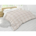 Cozy Plaid Tan Comforter By Kavka Designs Overstock 30477355