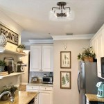 Shop Black Friday Deals On Modern Farmhouse 4 Lights Semi Flush Mount Ceiling Lighting Fixture W12 X H8 Overstock 30668057