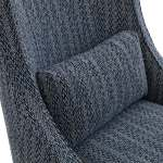 Madison Park Glenmoor Navy Accent Chair Overstock 30677628