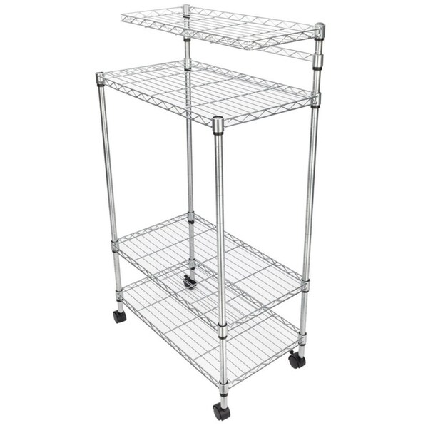 4 layer adjustable kitchen bakers rack