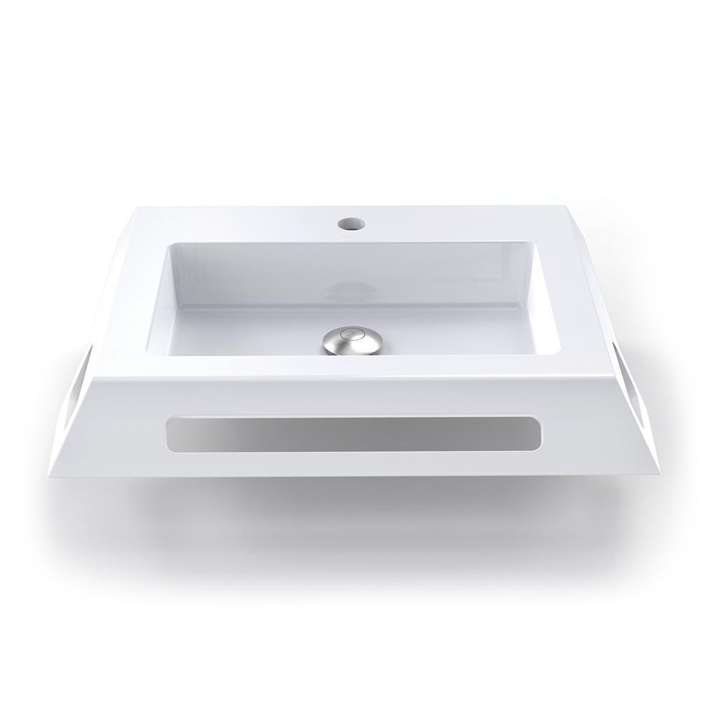 lexine solid surface ada compliant wall mount bathroom sink
