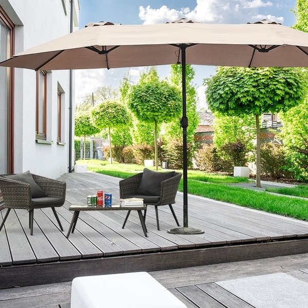 15 double sided outdoor offset patio
