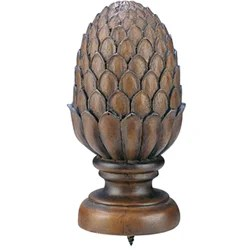 Shop Walnut 8 Foot Smooth Rod With Pineapple Finial Free Shipping Today Overstock 3229942