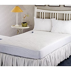 Warm And Cozy Plush Heated Electric Full Size Mattress Pad