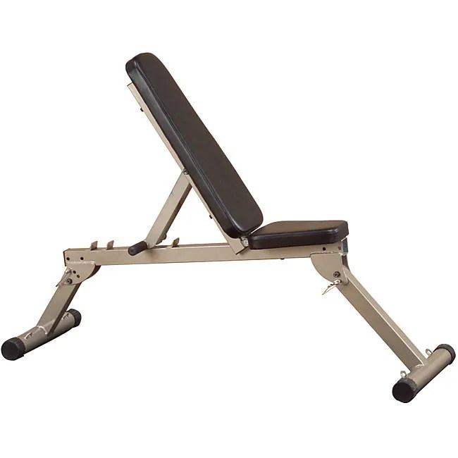 Best Fitness Flat Incline Decline Folding Bench Free