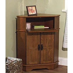 Simple Living Mission Corner Cabinet Free Shipping Today