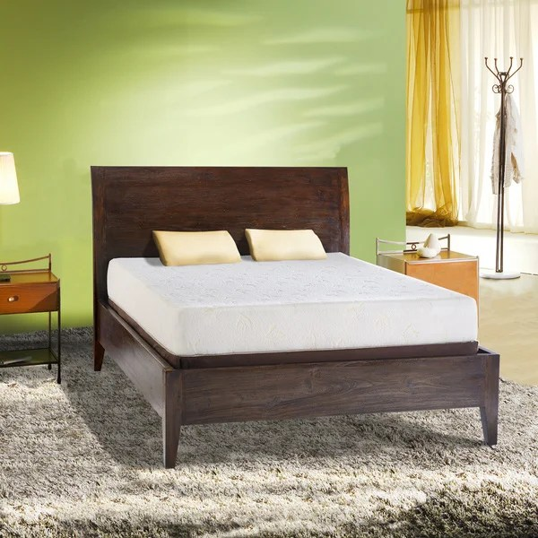 Comfort Dreams Select A Firmness 9 Inch King Size Memory Foam Mattress Free Shipping Today 12275269