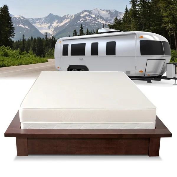 Select Luxury Home Rv 6 Inch Firm Flippable Short Full Size Foam Mattress
