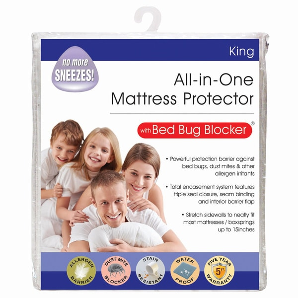 All In One Protection Bed Bug Blocker Mattress Protector