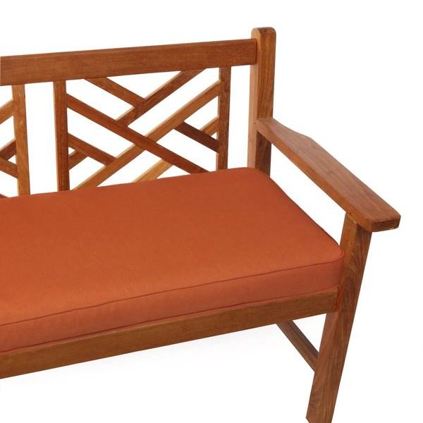 Shop Indoor Outdoor 48 Quot Bench Cushion With Sunbrella