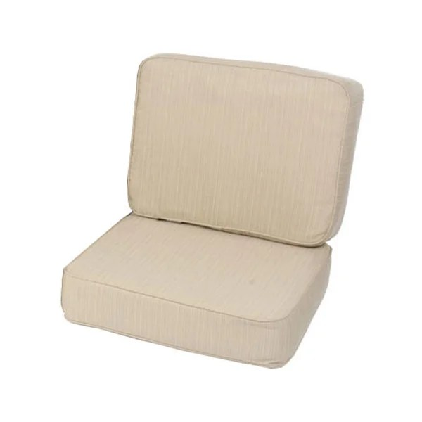 Navy Outdoor Chair Cushions Design With Chocolate Brown Wicker