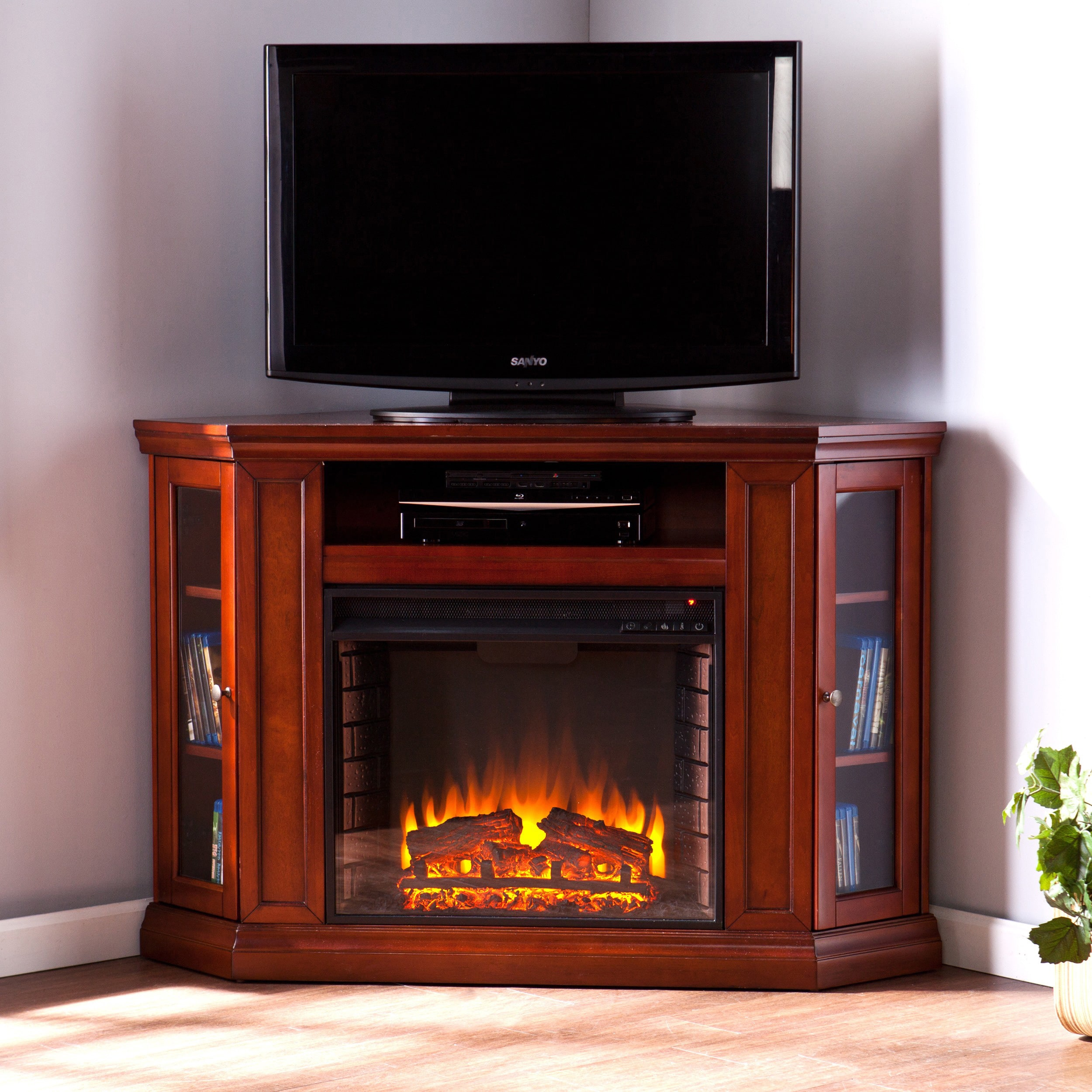 48 Corner Tv Stand For Flat Screen With Storage Electric