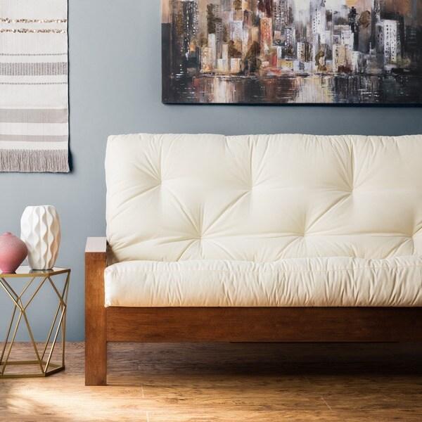 Clay Alder Home Hansen Full Size 10 Inch Futon Mattress