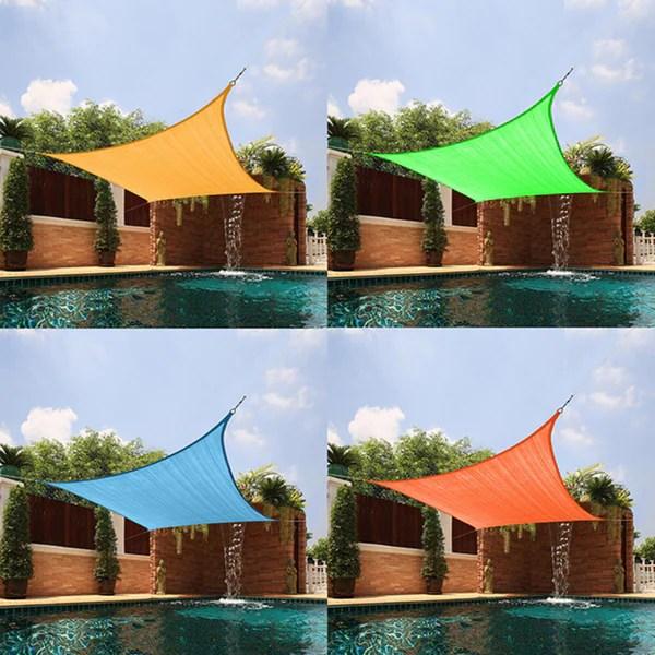 Medium Square Sail Sun Shade 13357812 Overstock Com